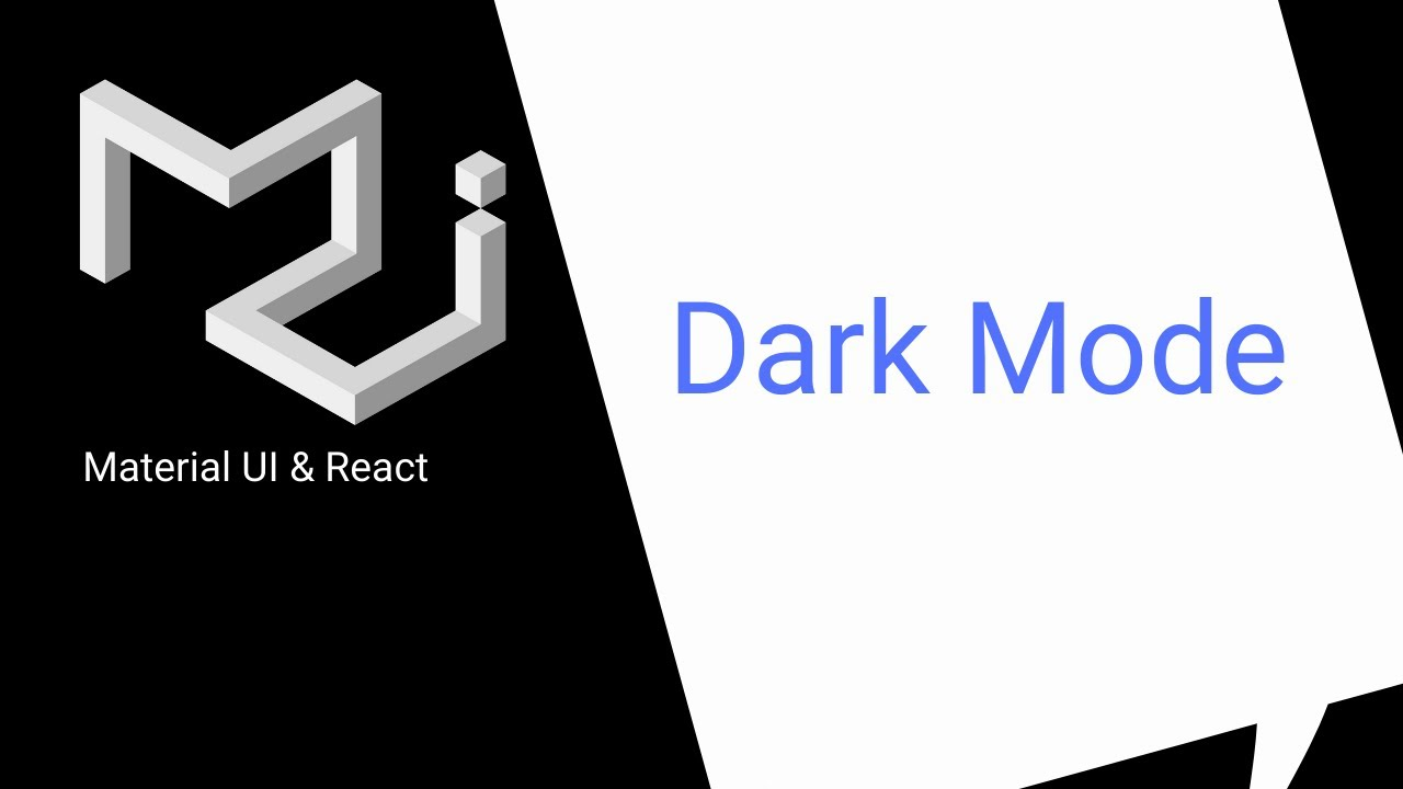 React & Material UI: Add Dark Mode to Your Site (Theming)