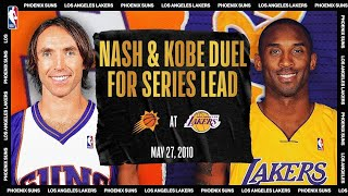 Nash & Kobe Duel For Series Lead | #NBATogetherLive Classic Game