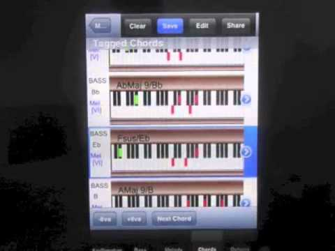Chords of Soul & R&B  - PIANO HARMONY MIDI STUDIO