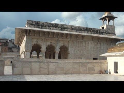 Khas Mahal inside Agra Fort