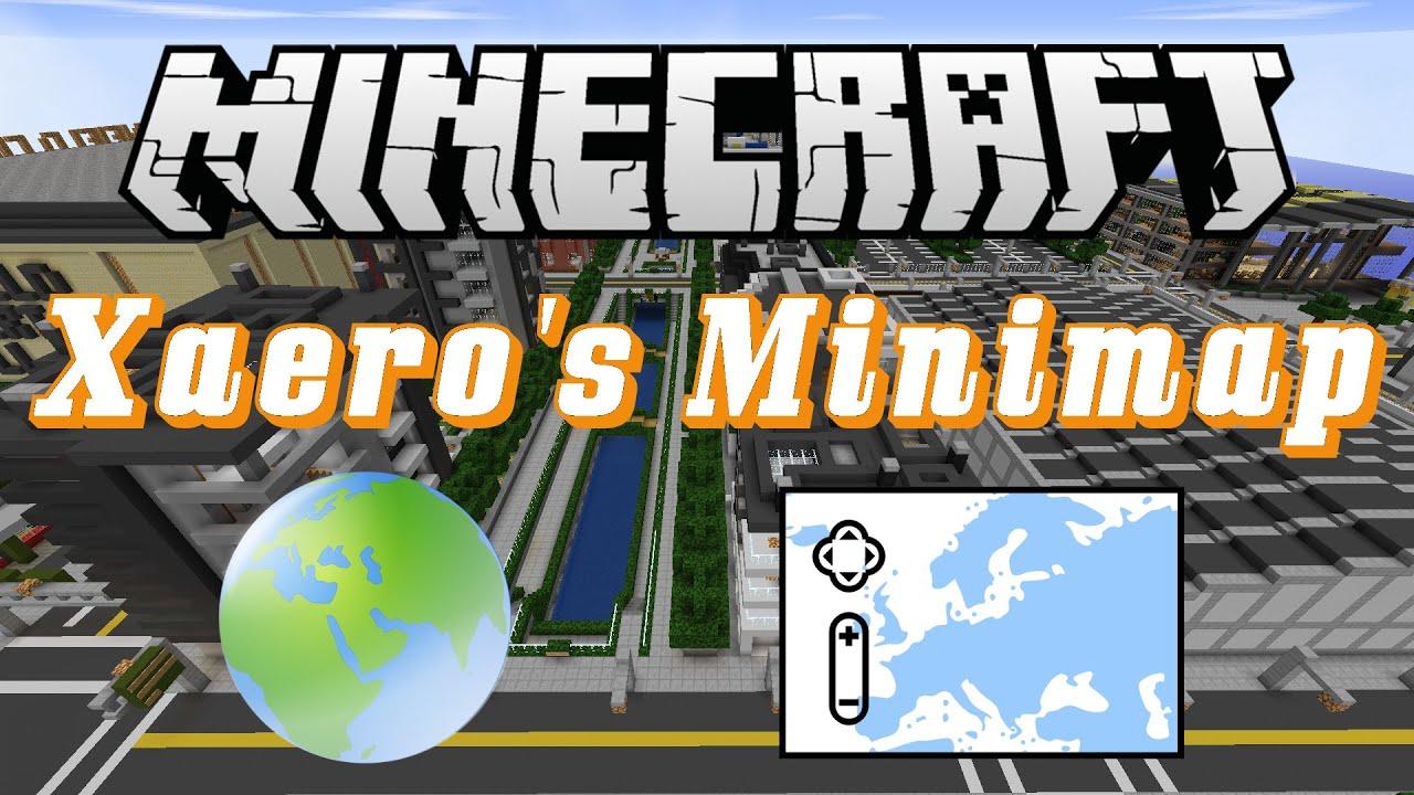 Xaero s minimap 1.8.8 моды для minecraft