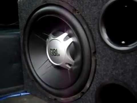 subwoofer jbl gt5 1204br car subwoofer youtube. Black Bedroom Furniture Sets. Home Design Ideas