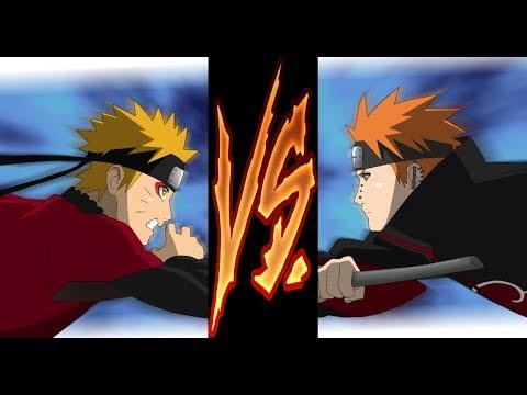 Naruto Vs Pain AMV || Survival And Venom By Eminem