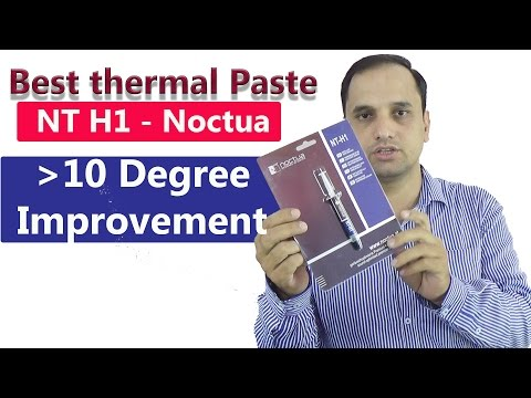 Noctua NT H1 Thermal Compound: Best for Gaming PC and Laptops