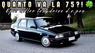 Speciale ALFA Romeo 75 - Milano Test Drive