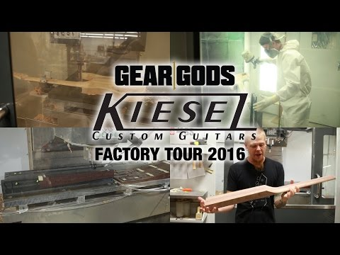 KIESEL GUITARS New Factory Tour 2016 | GEAR GODS