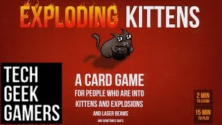 Let's Play Exploding Kittens (NSFW Edition)