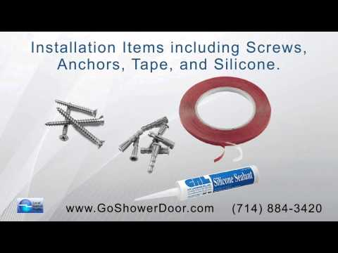 The Shower Door Shop offers replacement parts and accessories online for shower doors and bathrooms.