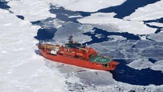 Australian icebreaker Aurora Australis runs aground in Antarctica