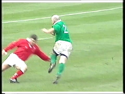 Keith Wood's epic performance vs Wales Rugby 1999