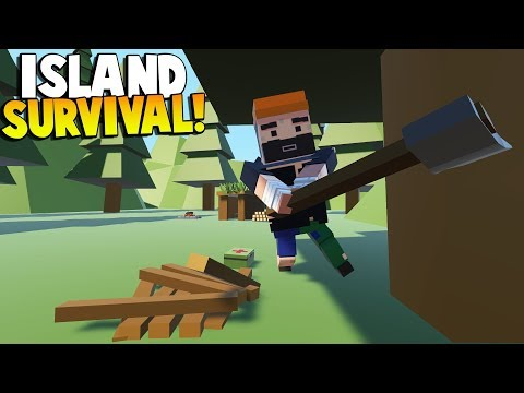 Tiny Town - STRANDED AT SEA! ISLAND SURVIVAL! - Tiny Town VR Gameplay - HTC VIVE