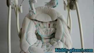 Видео обзор детской качели Bright Starts 6936