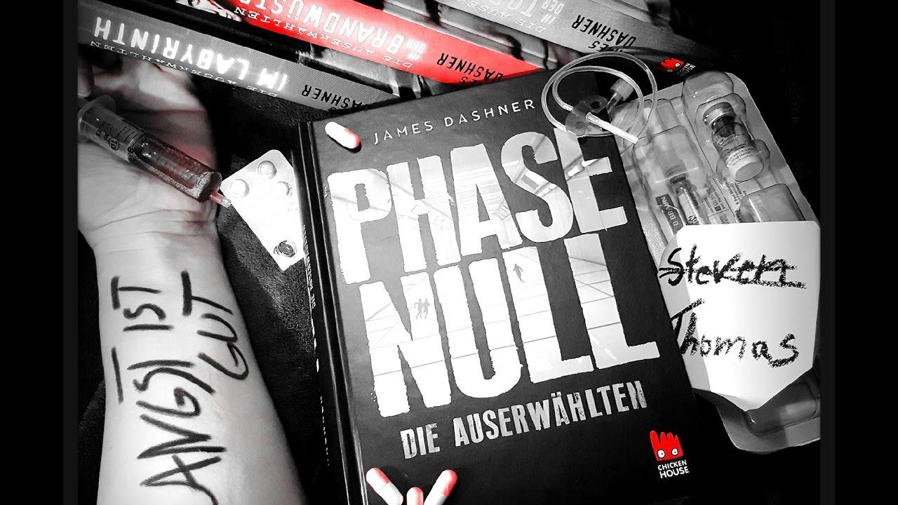 """Download Rezension zu """"Phase Null- Die Auserwählten"""" von James Dashner"""