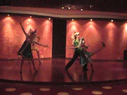 Dance show Artistic Agency Golden Stars Presents:(artist 00304)