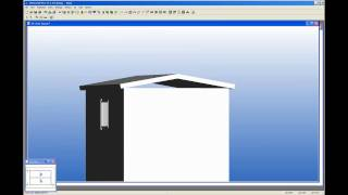 How To Draw A Simple Steel Framed Shed Using Vertex Building Design Software