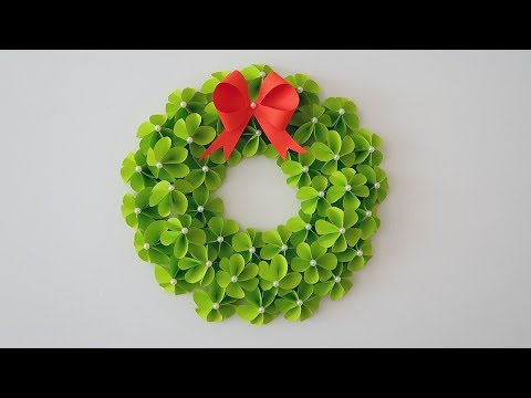 Paper Wreath for Christmas | DIY Christmas Decorations Ideas 1209