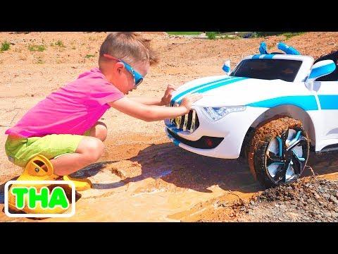 วลาดและนิกิตา  เรื่องตลกเกี่ยวกับรถยนต์สำหรับเด็ก
