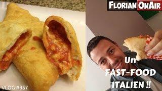 Un FAST-FOOD ITALIEN à Strasbourg - VLOG #357