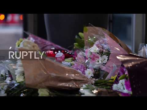 UK: Vigil Held For Christchurch Victims Outside London's NZ House