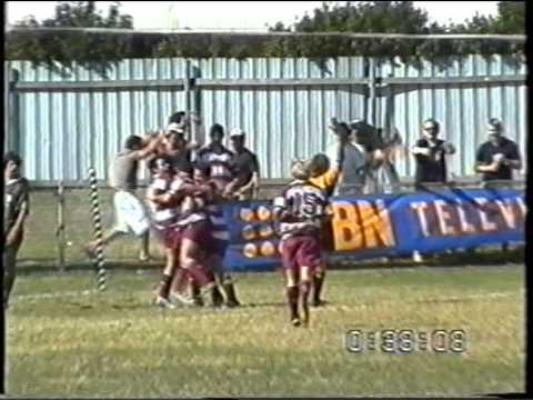 Uni v Greens 2005 Colts Grand Final clip
