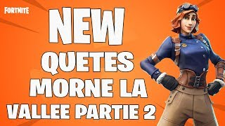 🔴 LIVE FORTNITE Morne Valley Part 2 we continue the QUests FORTNITE save the world S4/720P HD