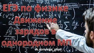 ЕГЭ по физике. Движение заряда в однородном магнитном поле. Теория и задачи