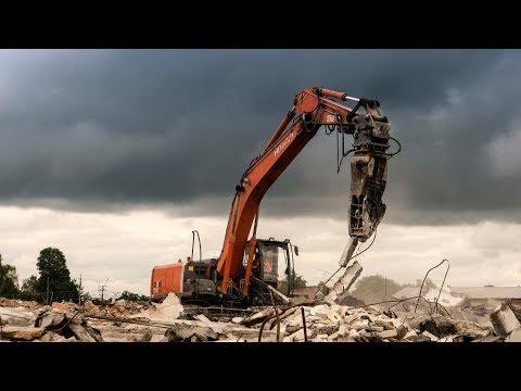 Демонтажные работы завода