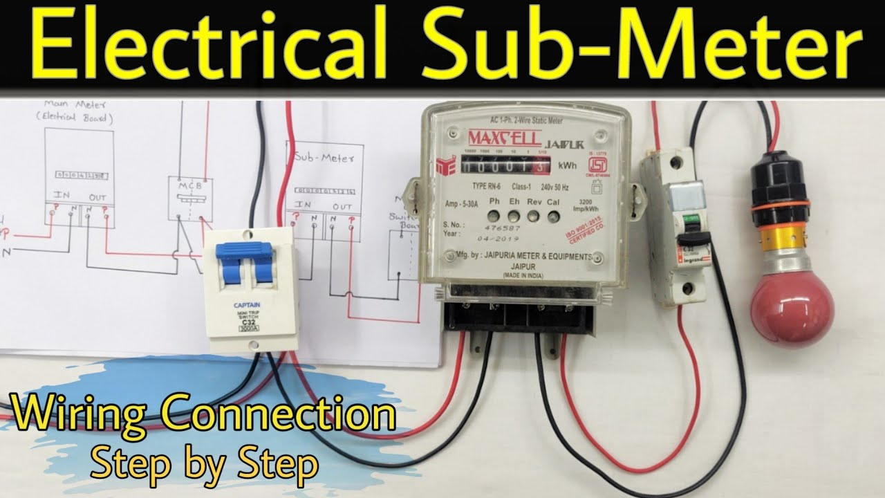 How to Install electric Sub-Meter [ 720 x 1280 Pixel ]