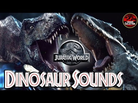 Jurassic World | HOW DINOSAUR SOUNDS WERE MADE | Behind the Scenes