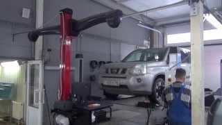 видео ремонт рулевой рейки missan
