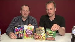 Gummy Bears Side By Side Brand Comparison - 2Guys