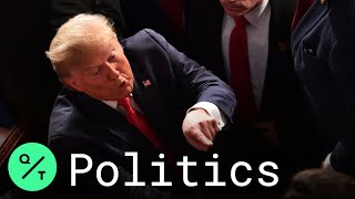 Trump Gives Deeply Partisan State of Union, Democrats Respond in Michigan