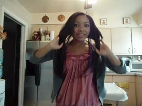 Euronext Hair Extensions Review And How To Dye Youtube