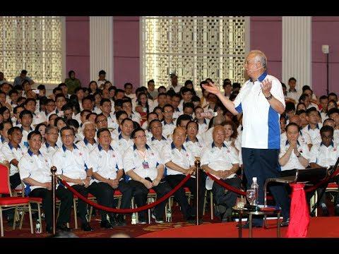 Najib on GE 14