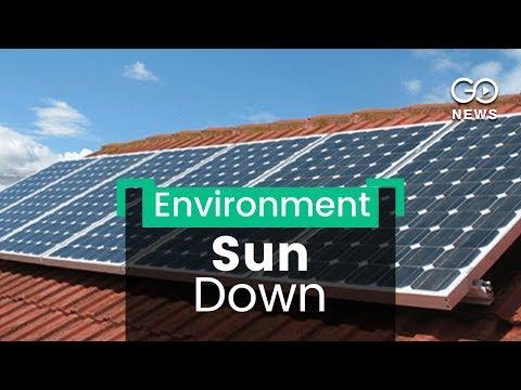 Solar Plant Vandalised