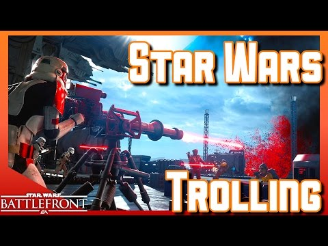 Star Wars Battlefront | Death Star | Trolling | Star Wars Gameplay PS4