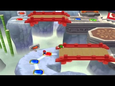 "Sanchez Games Multirandomness - Rayque3 Staff vs Team Xnator - Mario Party 7 ""Pagoda Peak"""