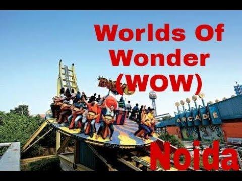 worlds of wonder amusement park Noida wow all rides