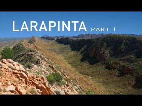 Larapinta Trail sections 1 to 3