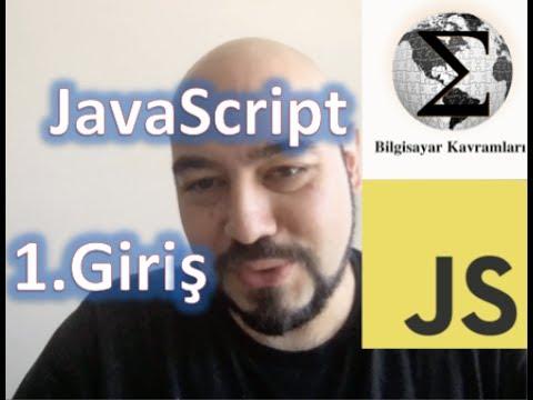 JavaScript 1: Giriş ve Basit bir Kod (Web Programlama 9. Video)