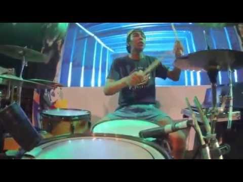 KiS - Berbohonglah - soundcheck drum cam