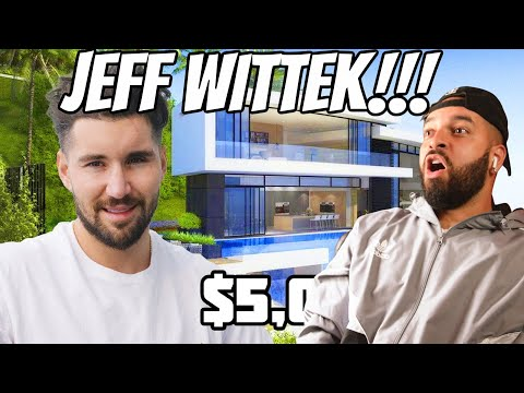 MY NEW HOUSE TOUR JEFF WITTEK REACTION