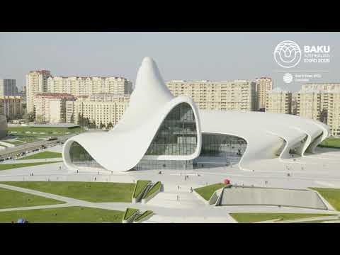 Heydar Aliyev Cultural Center – Expo 2025 Baku Azerbaijan