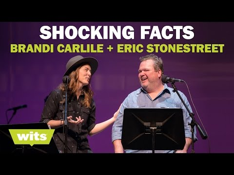 Brandi Carlile and Eric Stonestreet - 'Shocking Facts' - Wits