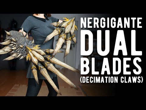 Nergigante Decimation Claws - Monster Hunter World thumbnail