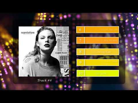 Top 15 - Taylor Swift - Reputation [Top Track Album]