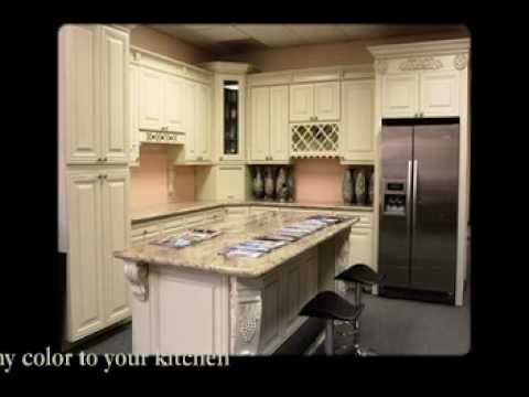 Cream Maple Glaze RTA Kitchen Cabinets