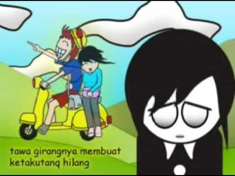 SHE - Apalah Arti Cinta Video klip Animasi 2D