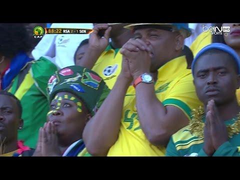Afrique du Sud vs Sénégal (2-1) - Eliminatoires CDM 2018