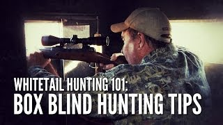 Whitetail Hunting Tips 101: How to Hunt From a Box Blind